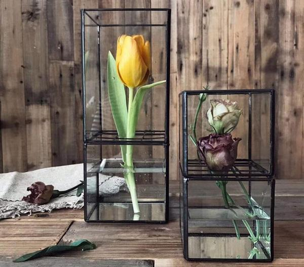 Barnabas - Modern Hydroponic Succulent Frame Planter - Modernly Decor