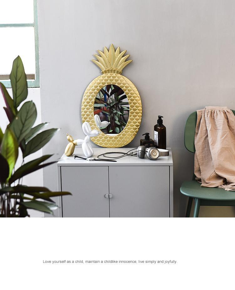 Cleo - Vintage Pineapple Wall Mirror - Modernly Decor