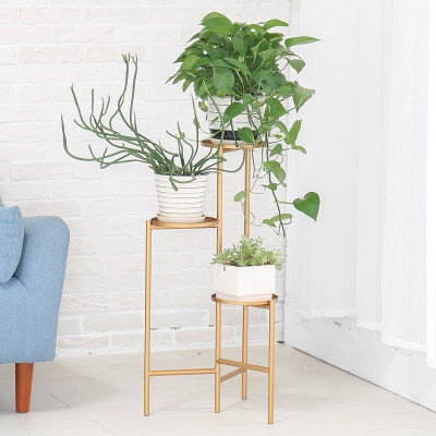Henley - Three Level Modern Nordic Planter Display Stand - Modernly Decor