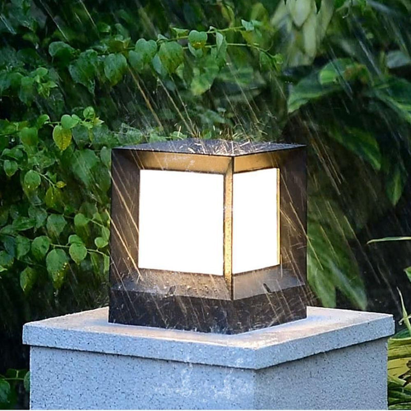 Lore - Modern Nordic Waterproof LED Cube Lamp - Modernly Decor