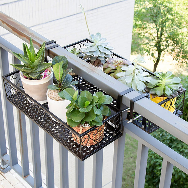 Poppa - Balcony Railing Hanging Planter - Modernly Decor