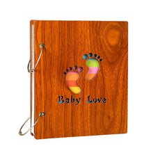 Load image into Gallery viewer, Baby Wooden Album