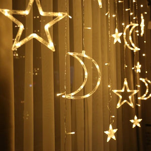 Moon & Stars LED Decoration