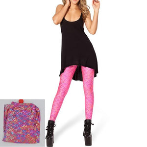 Mermaid Seamless Leggings