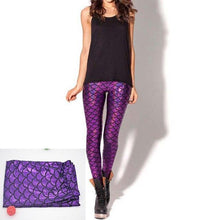 Load image into Gallery viewer, Mermaid Seamless Leggings