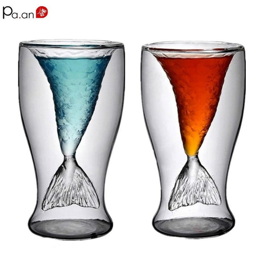 Mermaid Wine Glasses