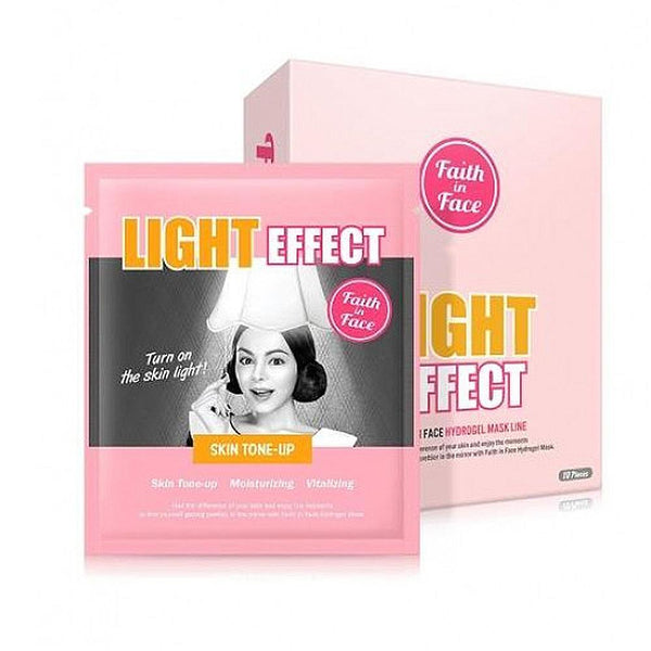 Faith in Face - Light Effect Hydrogel Mask (1pc)