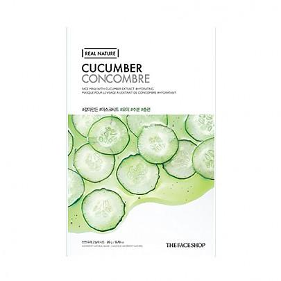 The face shop - Real Nature Mask (Cucumber)