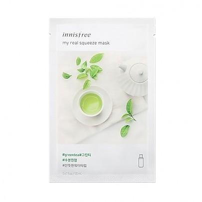 Innisfree - My Real Squeeze Mask (Green Tea)