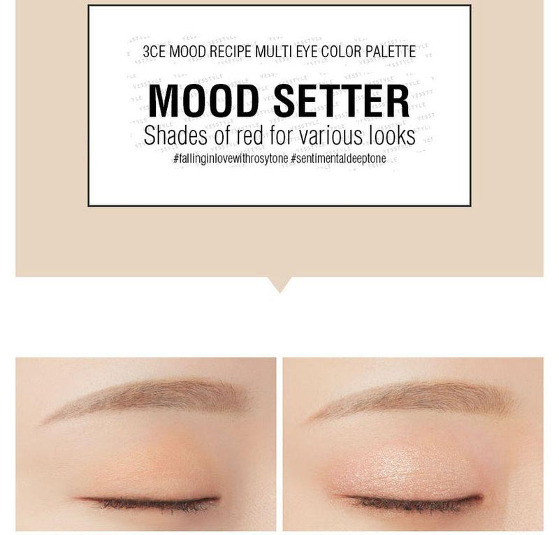 3 CONCEPT EYES - Mood Recipe Multi Eye Color Palette