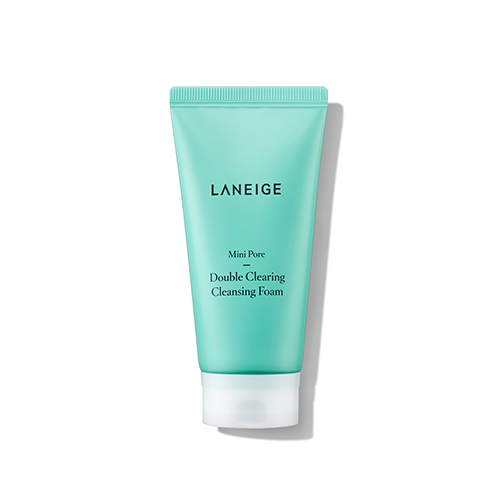 Laneige - Mini Pore Double Clearing Cleansing Foam 150ml
