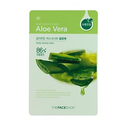 The face shop - Real Nature Mask (Aloe Vera)