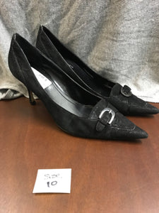 Anne Klein Size 10 Black Shoes