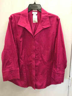 Chico Size 3/Large Pink Shirt