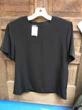 Load image into Gallery viewer, Kasper Size 6 Black Shirt