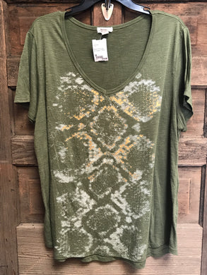 MADISON Size 3X Green T-Shirt
