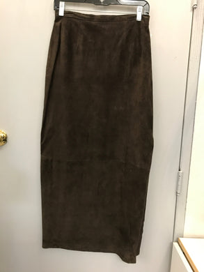 Size 4 Will Smith Brown Suede Skirt