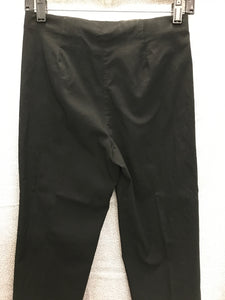 Lior Paris Size 6 Black Pants
