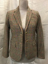 Load image into Gallery viewer, J.Crew Mercantile Patterned Schoolboy Blazer