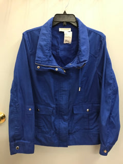 jones ny Size Large Blue Jacket