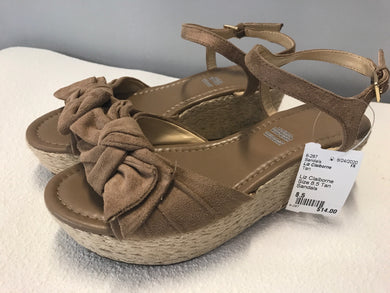 Liz Claiborne Size 8.5 Tan Sandals