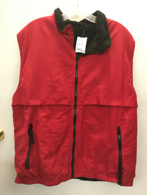Port Authority Red Reversible vest