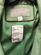 Load image into Gallery viewer, Croft&Borrow Size M Green Rain Peacoat