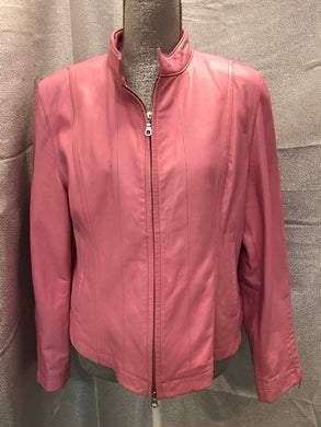 Wilson's Leather Size XL Pink Jacket