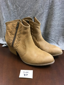 "Musse & Cloud ""Athya"" Nubuck Leather Ankle Boots Size 10"