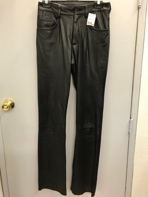 Wilson's Leather Size 4 Black Riding Pants