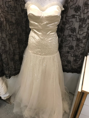 Size S/M Ivory Seasonal Princess gown