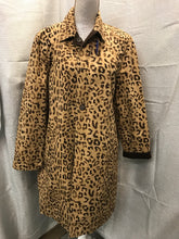 Load image into Gallery viewer, jones ny Size L Cheetah/Brown Reversible Jacket