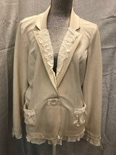 Load image into Gallery viewer, Christopher Banks Size XL Ivory Jacket