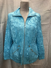 Load image into Gallery viewer, Chico Size S Teal Jacket
