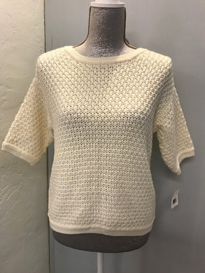 Impulse Size S Ivory Sweater NWT