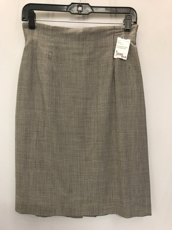 Houndstooth Size M Escada Skirt