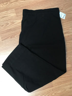 Worthington Size 2X Black Capri