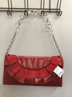 White House Black Market Size M Red Purse