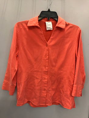 Tianello Size XS Orange Blouse