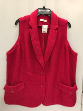 Load image into Gallery viewer, coldwater creek Size 2X Pink vest