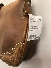 Load image into Gallery viewer, Tony Lama Brown leather Purse