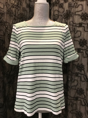 Croft&Borrow Size PL striped Shirt