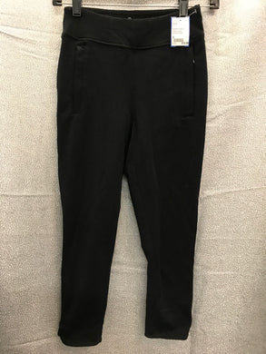 talbots Size S Black crop LEGGINGS