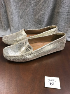 Clarks Size 10 Gold Loafers (NEW)