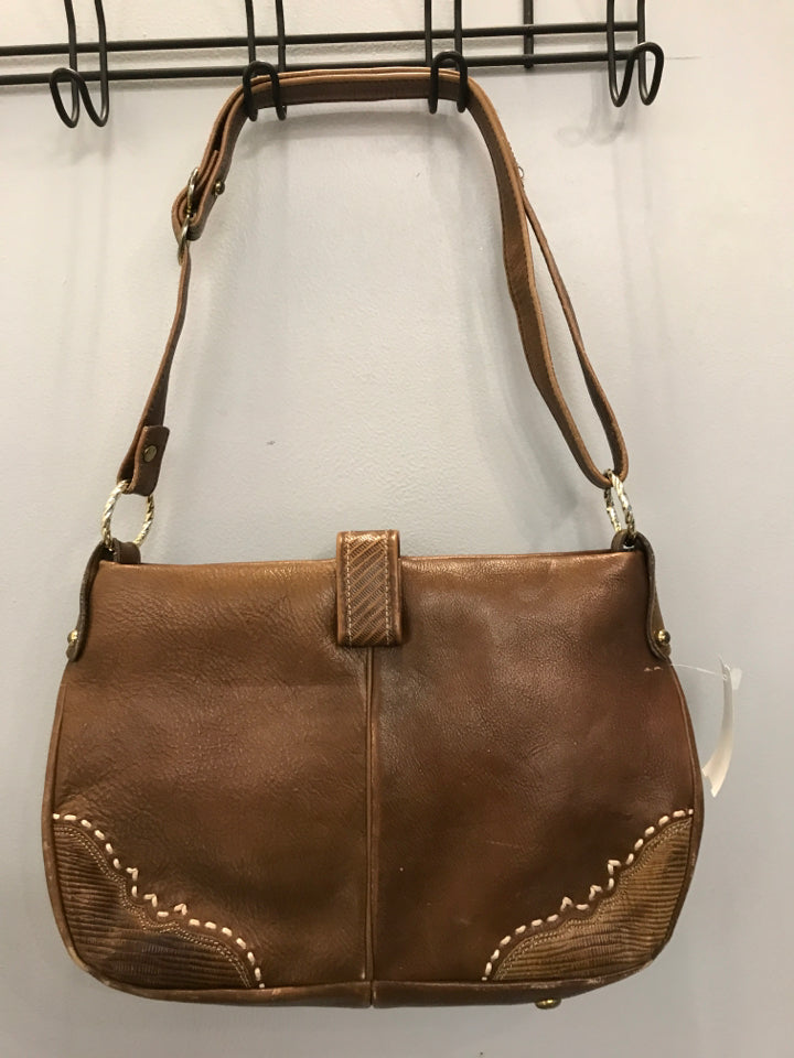 Tony Lama Brown leather Purse