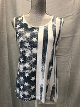Load image into Gallery viewer, Size M Flag Tank Top