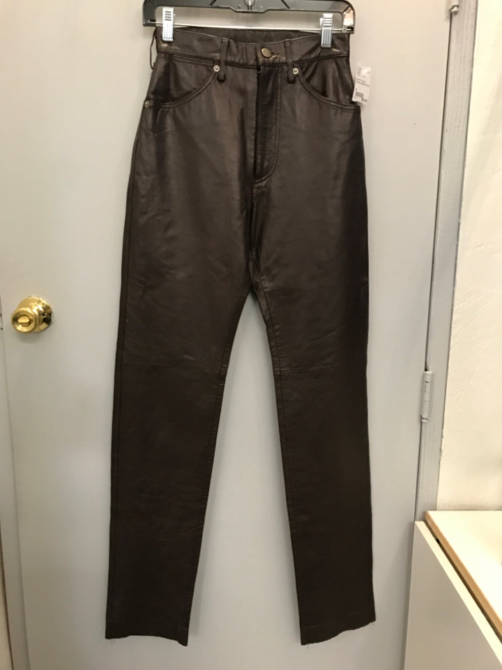 Size 5 Scully lined Leather Pants