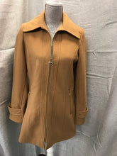 Load image into Gallery viewer, Michael Kors Size S Tan Wool Lined Jacket