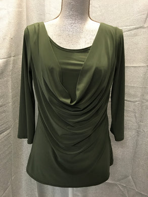 Prospect Blvd Size L Green Shirt