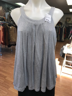 Jennifer Lopez Size L Silver Shirt NEW